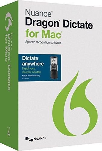Nuance Dragon Dictate 4 für Mac Mobile (inkl. Diktiergerät)