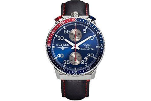Elysee Mens Watch Graf Berghe von Trips Rally Timer I Chronograph 80521