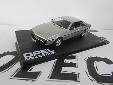 Bitter SC, silber (ohne Magazin), 1981, Modellauto, Fertigmodell, SpecialC.-40 1:43