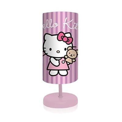 Hello Kitty mit Teddy - Nachttischlampe - Tischleuchte - Leuchte von Sanrio auf Lampenhans.de