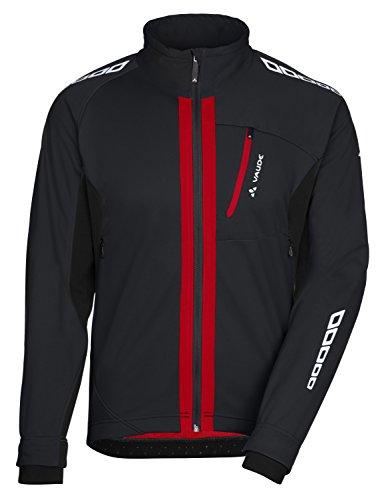 VAUDE Herren Radsport Softshelljacke Kuro II Schwarz