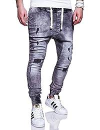 MT Styles sarouel Jogging-Jeans pantalon homme RJ-2270
