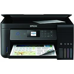 Epson EcoTank ET‑2750 Stampante multifunzionale 5760 x 1440DPI Inkjet A4 33ppm Wi-Fi, Nero
