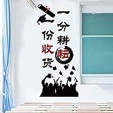 Inspirational mur mur autocollant de formation de la culture de la culture de la salle de classe de l'école patch patch tutorat réparateur classe Version verticale d'une caisse unique surdimensionnée...