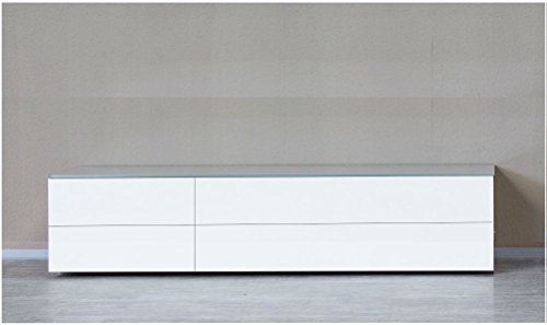 KITOON Sideboard/Lowboard (B 171 H 38 T 48 cm), Fußgestell, Nuß geölt (Echtholzfurnier)