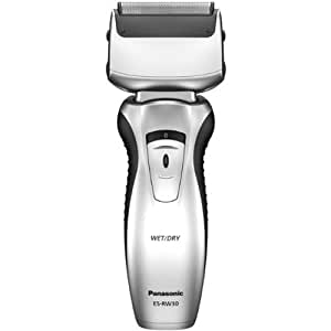 Panasonic ES-RW30 Dual-Blade Electric Shaver Wet/Dry with Flexible Pivoting Head for Men, Stainless