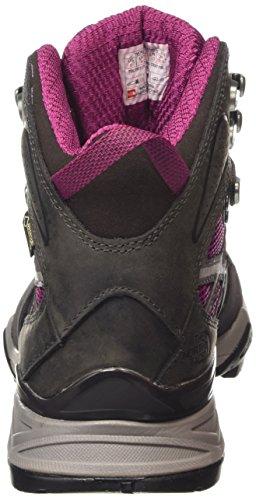 The North Face Hedgehog Hike Goretex Mid, Chaussures de randonnée à tige haute femme Violet - Purple (Radiance Purple/Plum Kitten Grey Dwd)