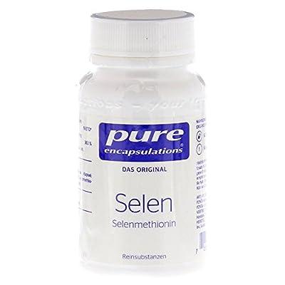 Pure Encapsulation Selenium Selenmethionin Capsules Pack of 60 from Pro Medico Handels GmbH