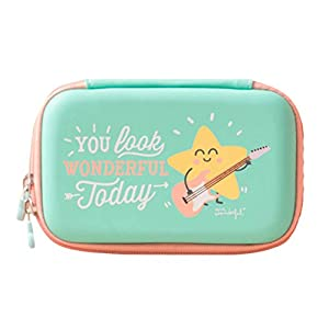 Mr. Wonderful WOA03230 – Funda para Disco Duro portátil, diseño You Look Wonderful Today