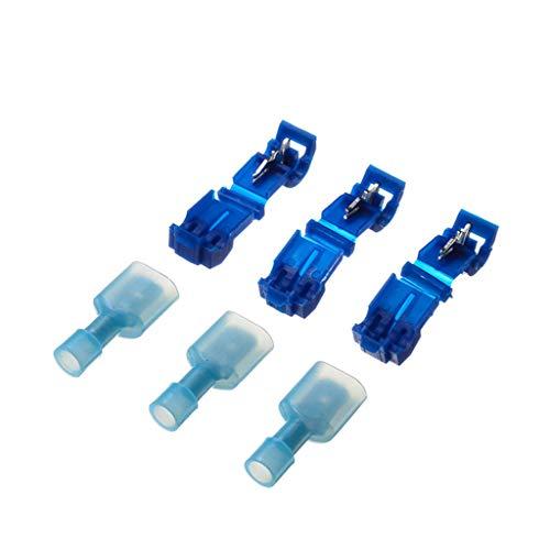 Zuhause Werkzeug,Janly 20/40/60/80/100 Paare Schnellverschluss Spleißdraht Anschlussklemme Crimp Clip Auto Kabel Kit Zuhause Zubehör (A)