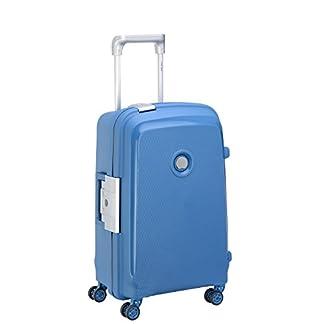 DELSEY PARIS BELFORT PLUS Maleta, 55 cm, 48 liters, Azul (Bleu Cyan)