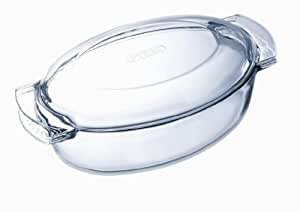 Pyrex Glass Oval Casserole, 4.5L
