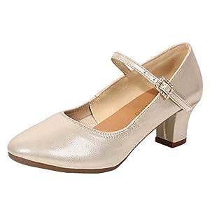 Damen Lateinische Tanzschuhe, LeeMon Frau Mode Tanzen Rumba Waltz Prom Ballroom Latin Salsa Dance Einzelne Schuhe