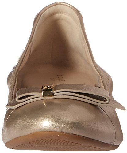 Cole Haan Tali Hardware Ballet Flat Gold/Metallic