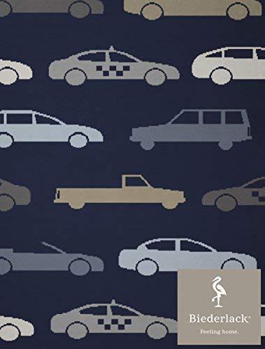 biederlack Lovely et Sweet Freeway, mélange de Coton, Bleu, Simple