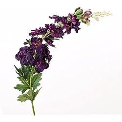 Deko Rittersporn, dunkelviolett, 100 cm, Ø 11 cm - Künstlicher Delphinium / Kunstblume - artplants