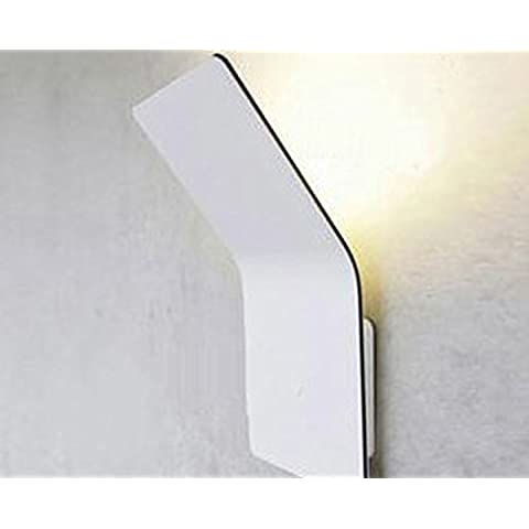 dsgre Modern Creative Power Thin Wall lampada da parete Box Studio camera da letto letto matrimoniale corridoio marce specchio Ferro da stiro TV da parete Leuchten