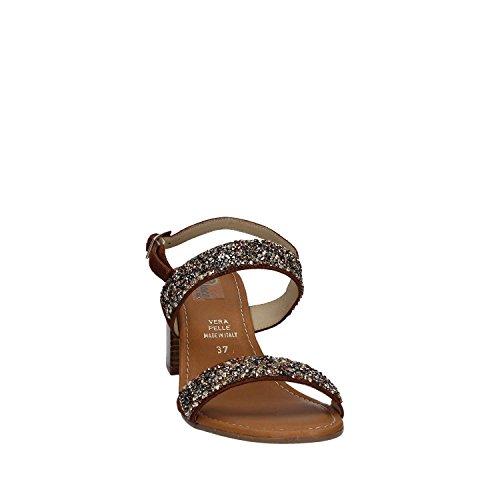 GRACE SHOES 31508 Sandalo tacco Donna Nero