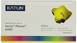 Katun 38706 Encre solide Jaune compatible avec les imprimantes XEROX PHASER 8400