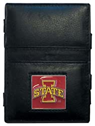 NCAA Iowa State Cyclones Leather Jacob's Ladder Wallet