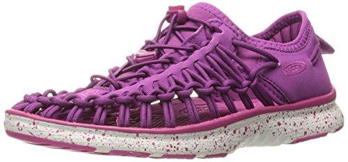 Keen Unisex-Kinder Uneek O2 Outdoor Sandalen, Violett (Purple Wine/Very Berry), 31 EU
