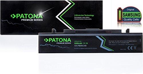 PATONA Batterie Premium pour ordinateur portable pour Samsung | Q Q318DS01 | Q318-DS01 | Q318DS02 | Q318-DS02 | Q318DS09 | Q318-DS09 | Q318DS0G | Q318-DS0G | Q318DS0H | Q318-DS0H | Q318DS0J | Q318-DS0J | Q318DS0Kp | Q318-DS0Kp | R NPQ318E | NP-Q318E | NPR418 | NP-R418 | NPR420 | NP-R420 | NPR428 | NP-R428 | NPR429 | NP-R429 | NPR430 | NP-R430 | NPR460NPR462 | NP-R460NP-R462 | NPR463 | NP-R463 | NP-R463H | NPR464 | NP-R464 | NP-R465 | NPR465H | NP-R465H | NPR466 - [ Li-ion; 5200mAh;noir]