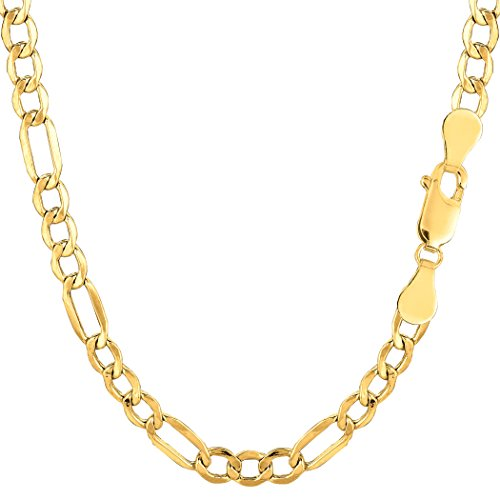 10k-yellow-gold-hollow-figaro-chain-necklace-46mm-20