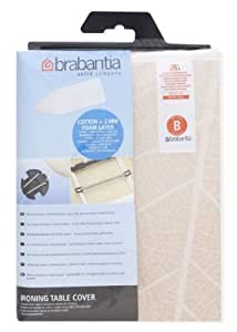 Brabantia Ironing Board Cover, 124 x 38 cm Leaves