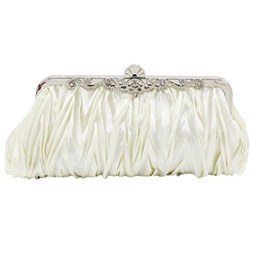 Bodhi2000 , Pochette pour femme, doré (Doré) - P182015LU8OE5421 blanc
