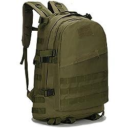 Senmir 40L Mochila Táctica Militar Impermeable para Excursionismo Montañismo Senderismo y viaje al aire libre Macuto Militar y deportiva de alta calidad