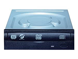 LiteOn IHAS124-04 24x SATA Half Height Internal DVDRW Drive - Black