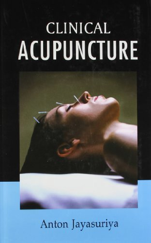 Clinical Acupuncture: Free Acupuncture Charts Along With the Book by Anton Jayasuriya (2000) Hardcover