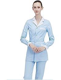 OPPP Ropa médica Mujer Traje de Enfermera Ropa médica Traje de Hospital Trajes Uniformes médicos Salón