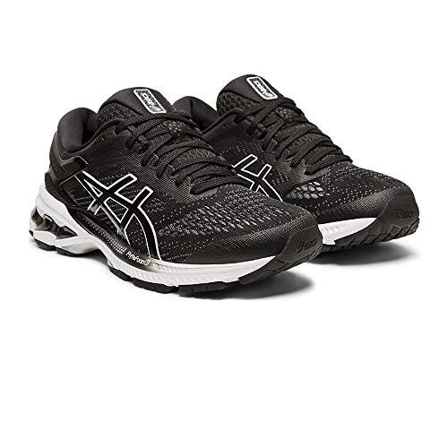 ASICS Damen Gel-Kayano 26 Laufschuhe, Schwarz (Black/White 001), 40 EU - Asics Shoes Running Winter