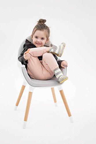 Kinderkraft FINI Kinderhochstuhl Treppenhochstuhl Babyhochstuhl Kombihochstuhl Hochstuhl - 10