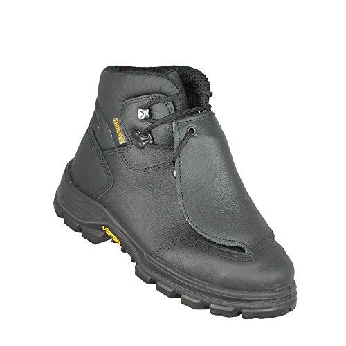 Aimont trucker merapi m hRO sRC chaussures s3 berufsschuhe businessschuhe chaussures de trekking (noir) Schwarz