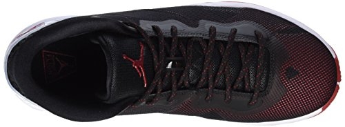 Nike Jordan Super.Fly 4, Chaussures de Sport Homme noir (Black/Gym Red-White-Infrrd 23)