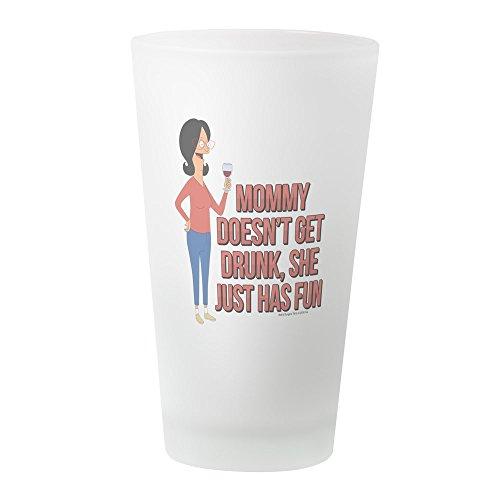 (CafePress–Bob 's Burger Linda Wein–Pint-Glas, 16oz Trinkglas frosted)