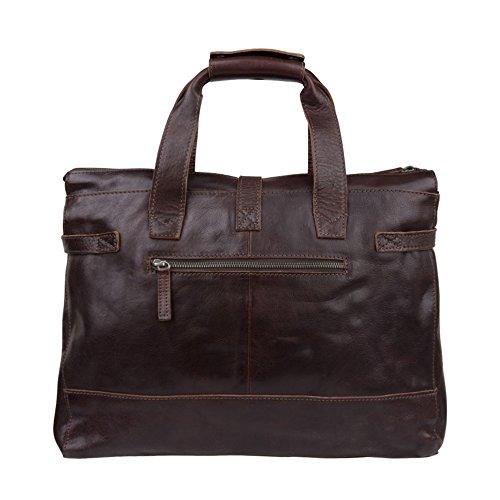 Cowboysbag Bag Washington 1065 Unisex-Erwachsene Henkeltaschen 39x29x10 cm (B x H x T) Brown (Braun)