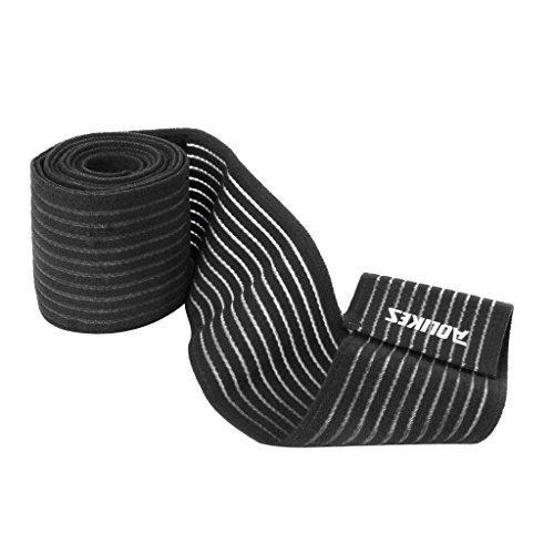 footful-rodillera-rodilla-pierna-apoyo-compresion-vendaje-correa-deporte-negro