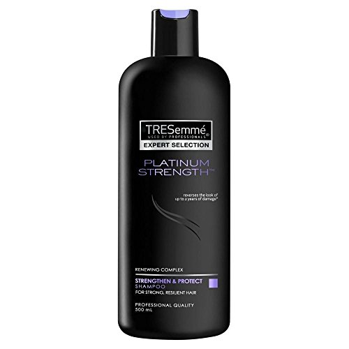 Tresemme Platinum Strength Shampooing (500 ml) – Lot de 2