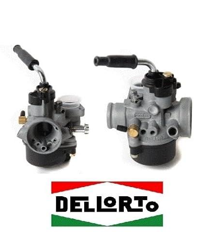 Dell'Orto PHVA 01012 Carburateur starter automatique 17,5ED pour Piaggio Gilera 50cc 2T