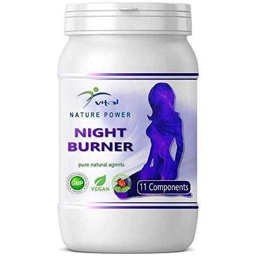 Natural Burner Kapseln - wahlweise Day Burner mit 21 Wirkstoffen, NIGHT Burner mit 11 Wirkstoffen oder Kombi Paket mit Diätplan