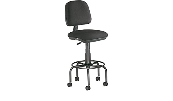 Rocada rd 980 sgabello con schienale rocada per tavolo da disegno