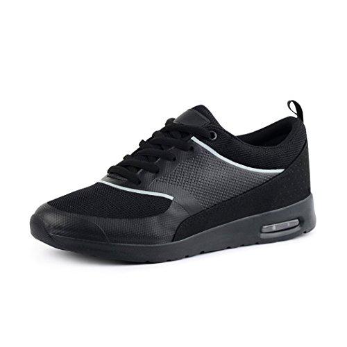 best-boots Unisex Damen Sneaker Fitness Laufschuhe Turnschuhe Runners black L.A.