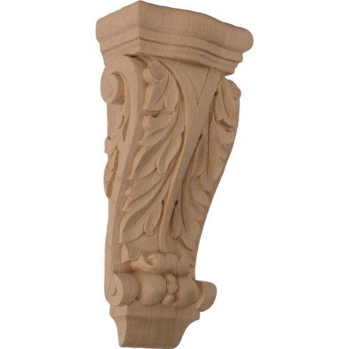 Pilaster Corbel (Ekena Millwork COR04X02X10FRCH 4 1/2-Inch W x 2 3/4-Inch D x 10-Inch H Small Farmingdale Acanthus Pilaster Corbel, Cherry by Ekena Millwork)