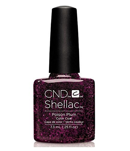 CND Shellac UV Gel Polish - Contradictions - Spring 2015 Collection - 0.25oz_POISON PLUM - C90859 **BCS_BW** by CND Cosmetics