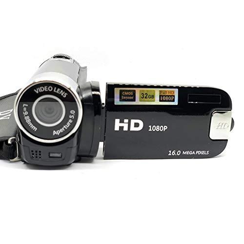 Digitalkamera 16mp Ultra Hd Kamera 180 Grad Drehung Flip Screen Kamera SLR 4X Digital Zoomschwarz (Slr-kamera Flip Screen)