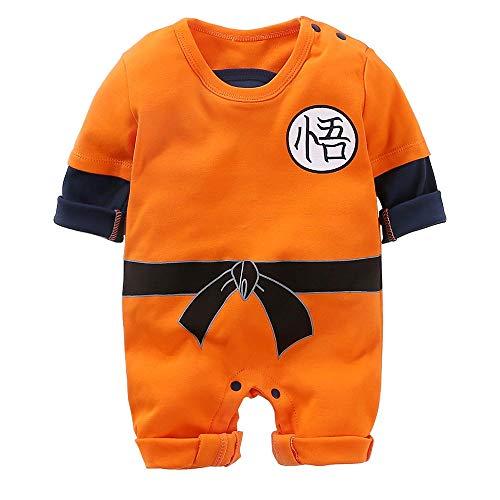 Neugeborene Wukong Overalls Baby Schöne Langarm Cartoon Spielanzug Baby - Cool Baby Kostüm