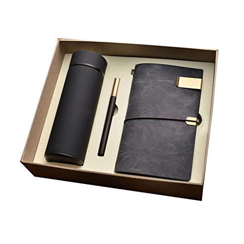 LG-ZWHL Business-Geschenkbox, Einschließlich (Notizbuch, Tasse, Stift, 8GU), Firmenveranstaltungen, Souvenirs (Color : B) Lg Gummi